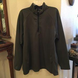 COLUMBIA Olive Green Pullover Sweater Size XXL